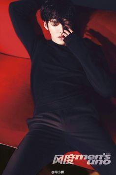 Kim Woo Bin - Men's Uno Magazine May Issue '14
