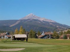 Big Sky Golf Course located in the meadow village in Big Sky, Montana.