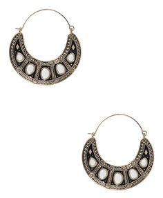 Goddess Crescent Earrings - New Arrivals - 1064786616 - Forever21 - StyleSays