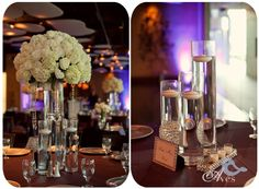 Marie Gabrielle Weddings Dallas Elegant Crystal Wedding Chandeliers Vases and Decor Ceremony Draping With Lights in the Trees Gorgeous Wedding Lighting Aves Photography0127