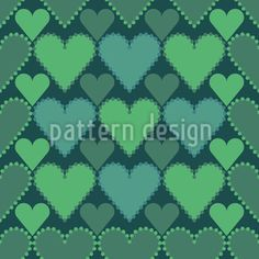 Check With Hearts Repeat Pattern Vector Pattern, Pattern Design, Repeating Patterns, Surface Design, Your Design, Hearts, Dots, Valentines, Check
