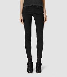 Mast Fray Jeans/Jet Black