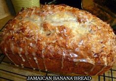 JAMAICAN BANANA BREAD - 2 cups all-purpose flour  3/4 teaspoon baking soda  1/2 teaspoon salt  1 cup granulated sugar  1/4 cup butter, softened  2 large eggs  1 1/2 cups mashed ripe banana (about 3 bananas)  1/4 cup plain low-fat yogurt (or pina colada flavored!!)  3 tablespoons dark …