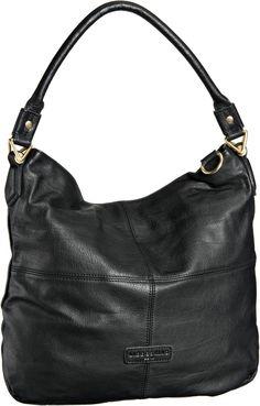 Liebeskind Fenja Vintage Triangle Black : Beuteltasche / Hobo Bag von Liebeskind