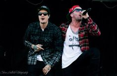 Hollywood Undead  Funny Man and Danny