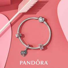 The PANDORA Tree of Love bracelet set is the perfect way to celebrate the love you have for your whole family. Available now, while supplies last. Visit our store for details! #PandoraWestland #Pandorabracelet #Pandoracharms #valentinesday #diadelosenamorados