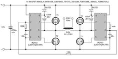 Electronic Schematics, Audio Amplifier, Circuit Diagram, Smart Home, Dc Ac, Motor Speed, Projects, Circuits, Technology