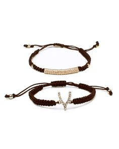 The Wishes Bracelet Set by JewelMint.com, $29.99