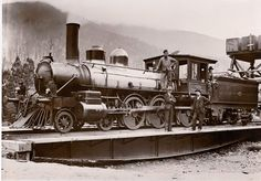 Train turn table Warburton Victoria .