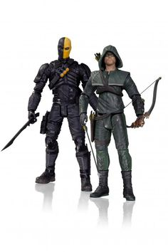 My next purchase the Arrow vs Deathstroke action figure set