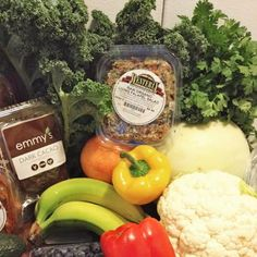 Everything you need for a week's worth of delicious meals!