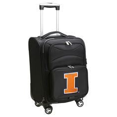 NCAA Illinois Fighting Illini Carry-On Spinner