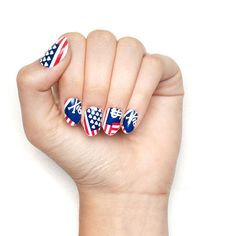Fiercely Independent... I need these nail wraps. OR to DIY them somehow. :)