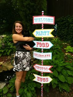 Madeline's graduation party decorations
