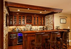 Award winning custom bar in Ashburn
