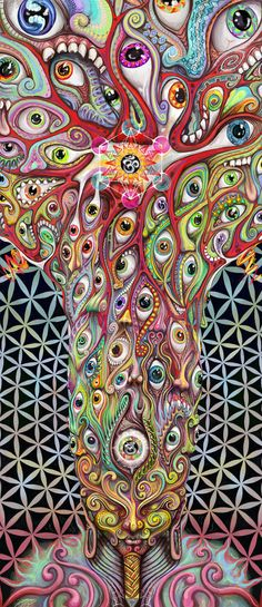 I normally don't like art featuring eyes, but this one is intriguing