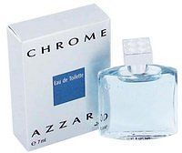 CHROME * Loris Azzaro Cologne 0.24 oz EDT Mini Splash