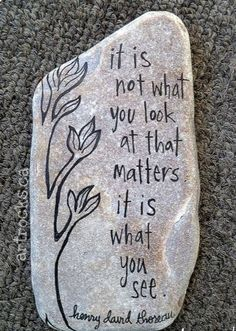 Best painted rock art ideas with quotes you can do (83)