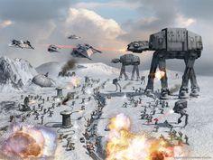Battle on Hoth - Jenny Harris - Google+