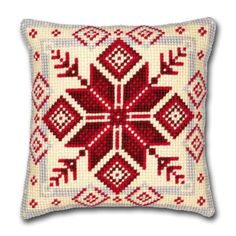 Look no further for your Vervaco printed cross stitch cushion kit, geometric Available to buy on-line from Sew Essential. Cushion Embroidery, Embroidery Patterns, Cross Stitch Designs, Cross Stitch Patterns, Cross Stitching, Cross Stitch Embroidery, Cross Stitch Cushion, Tapestry Kits, Cross Stitch Supplies
