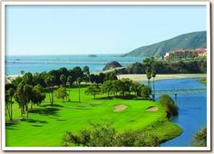 The perfect atmosphere for a day of golfing. The beach is close enough to smell and the holes are challenging enough for a good day on the green.