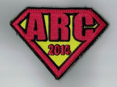 ARC or Super Man? Anyway, this patch looks so good! It has velcro at the back, so it's very easy to apply. Order your own design at ibadge.com.