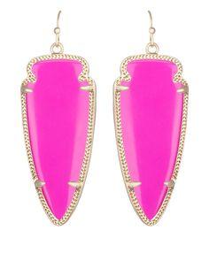 Skylar Earrings in Magenta - Kendra Scott Jewelry.