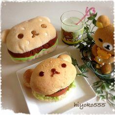 Rilakkuma Burger リラくまハンバーガー