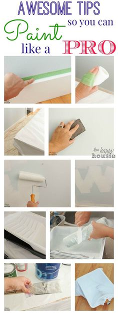 Lightening Up the Master Bedroom with Paint {& How to Paint Like a Pro} - The Happy Housie