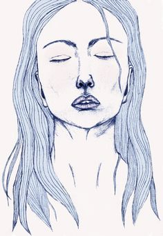 Another Madonna. Digital painting by Milla-Maria Joki (2014)