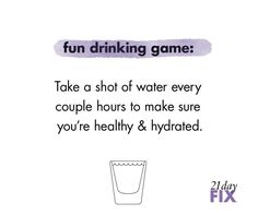 Best healthy drinking game ever!