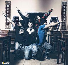 """Sesión realizada para los eventos promocionales y entrevistas del álbum """"Shoryuken"""". Realizada en 2010."""