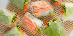 How to Make Fresh Spring Rolls by keep your diet real