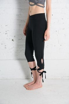 Our most popular legging! The Turnout Legging from Free People in black. Feel like a professional ballerina in your next workout. Yoga Leggings, Fitness Fashion, Capri Pants, Free People, Jumpsuit, Lace, Athletics, Ballerina, Shopping