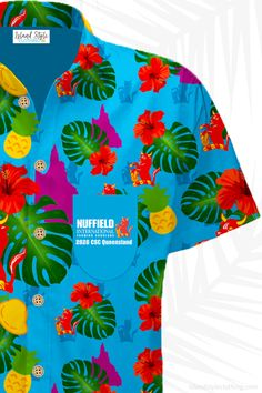 We designed for our friends from Nuffield International this Custom Hawaiian Shirt for their Qld Conference. Want one? Your Business - Your design. We create and supply custom designed shirts and shorts for clubs, sports, groups, family or corporate events. Send in your design or we can design for you. #customshirts #customhawaiianshirts #madetoorder #eventshirts #uniforms #tourshirts #festivalfashion #footyshirts #rconferenceshirts #customtshirts #customt-shirts #custom-shirts