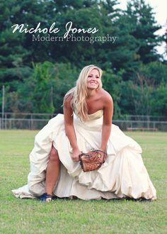 trash the dress softball