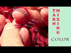 How to Mix Yarn - Color - YouTube
