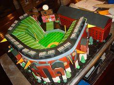 Torta: Estadio de béisbol