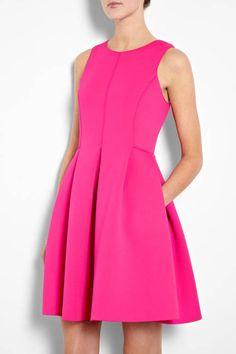 I could live in this neoprene @Tibi New York dress...