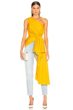 Shop Johanna Ortiz Ancient Sun Top online for Women at Bobobobo Jakarta - Indonesia. Discover latest styles of Johanna Ortiz collection. Yellow Fashion, Pop Fashion, Cute Fashion, Modest Fashion, Girl Fashion, Fashion Dresses, Fashion Design, Stylish Dresses, Simple Dresses
