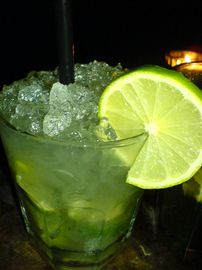 Green for St Patricks day....Coconut Pineapple Delight.....non-alcoholic drink