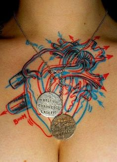 1000 images about medical alert tattoos on pinterest for Heart surgery tattoo