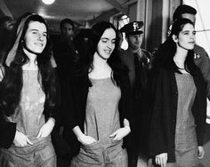 On This Day, Jan 25, 1971, in Los Angeles, California, cult leader Charles Manson is convicted, along with followers Patricia Krenwinkle, Susan Atkins, and Leslie Van Houten.