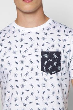 All Over Bug Print TShirt