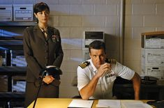 Photo of JAG for fans of JAG. David James Elliott, Catherine Bell, American Actors, Tv Series, Tv Shows, Mac, Actresses, Smoothies, Youtube
