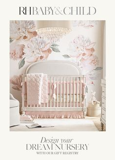 Baby girl nursery room ideas butterfly cribs 57 New ideas