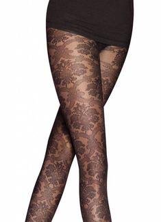 De chique Baroque Lace panty van Pretty Polly is een prachtige, kanten naadpanty met een fraai design en een perfecte pasvorm! Een geweldige zwarte netpanty voor elke outfit en een absolute eyecatcher voor je benen! Lace Tights, Fishnet Tights, Baroque, Stockings, Pretty, Pants, Outfits, Design, Fashion