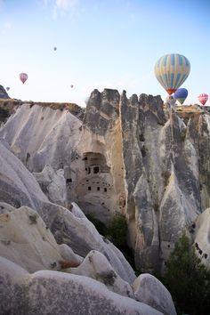 Cappadocia, Turkey-great place for a hot air balloon #travel