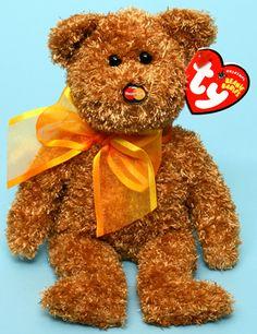 M.C. Beanie V - bear - Ty Beanie Babies