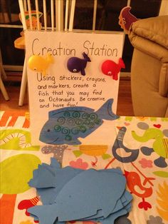 Fish craft for Octonauts party